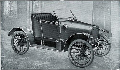 Jowett light car 1910