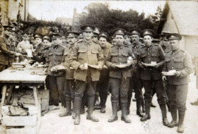 First World War soldiers from the East Yorkshire Regiment