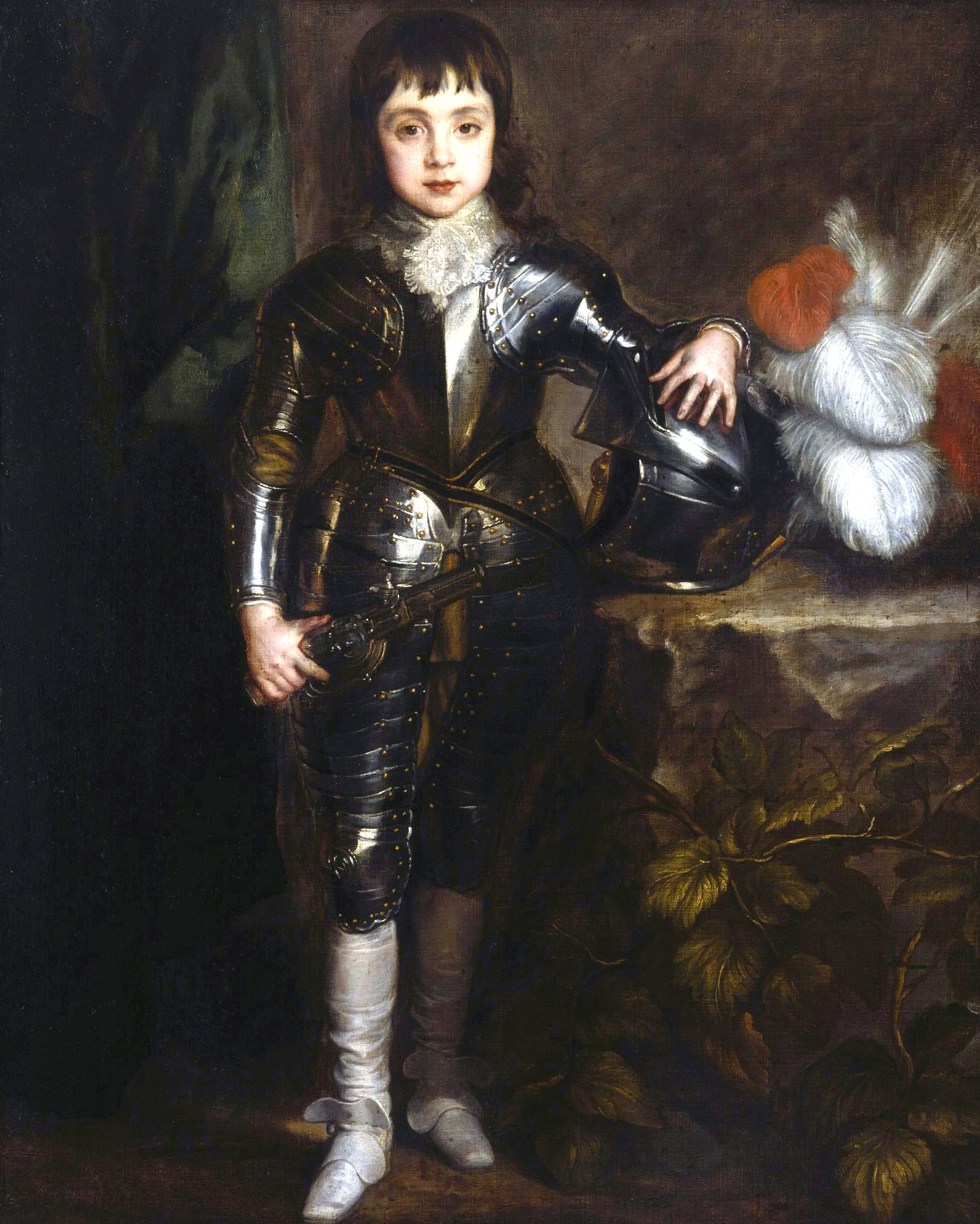 Portrait of Charles II When a Boy by Anthony Van Dyck