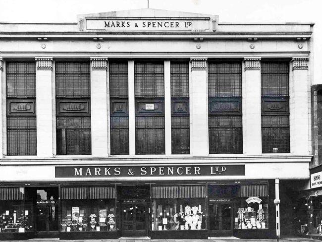 M&S store, English Street, Carlisle 1935