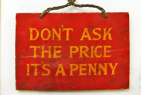 Don't ask the price it's a penny