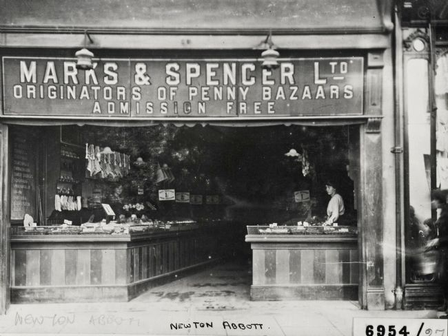 M&S Newton Abbot store in 1912