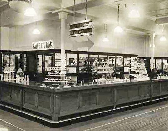 Old M&S Hammersmith Café Bar Before Renovation