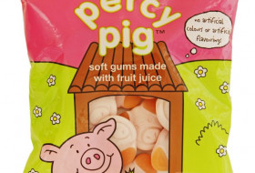 M&S Percy Pig sweets package