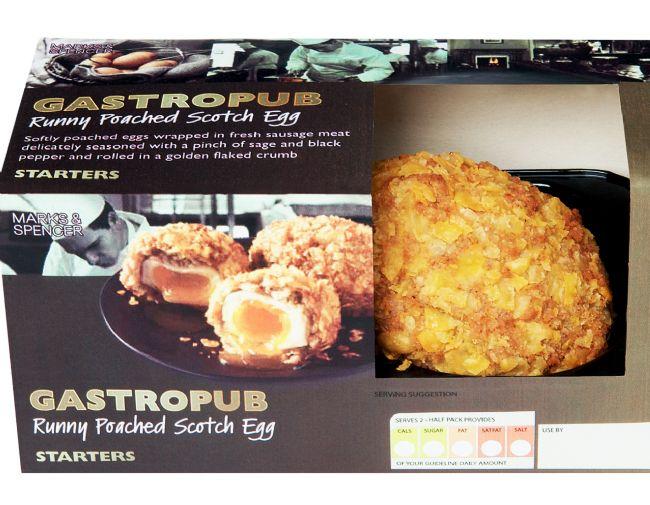 M&S 2012 Gastropub Runny Scotch Eggs
