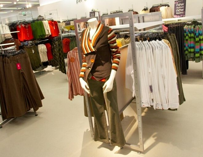 per una clothing in store at M&S Abbeycentre, Newton Abbey 2006