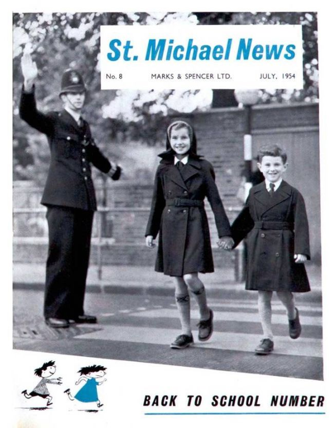 St Michael News special 'Back to School' issue in July 1954