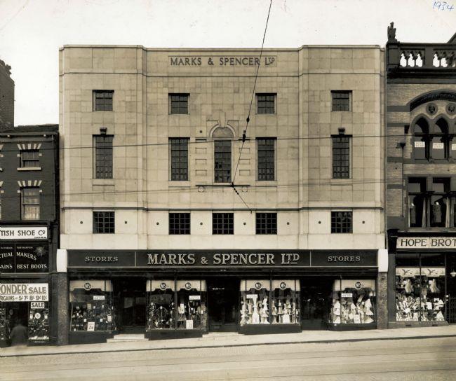 M&S Leeds Briggate Store 1934