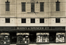 Marks and Spencer store, Leeds Briggate, 1934