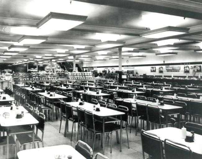 M&S Leeds Briggate Cafe Bar 1950s