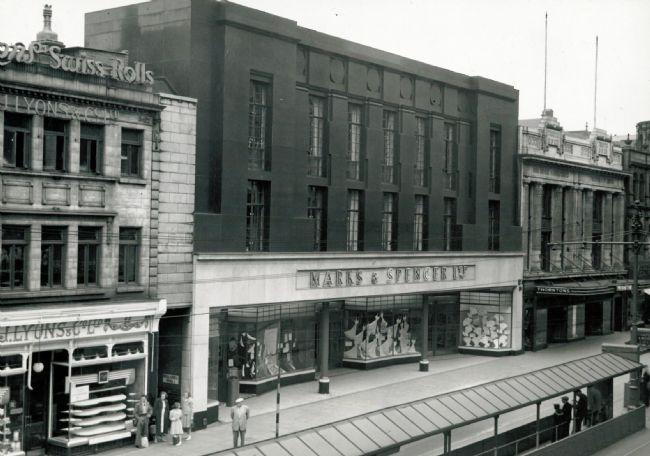 M&S Leeds Briggate Store, 15 March 1951