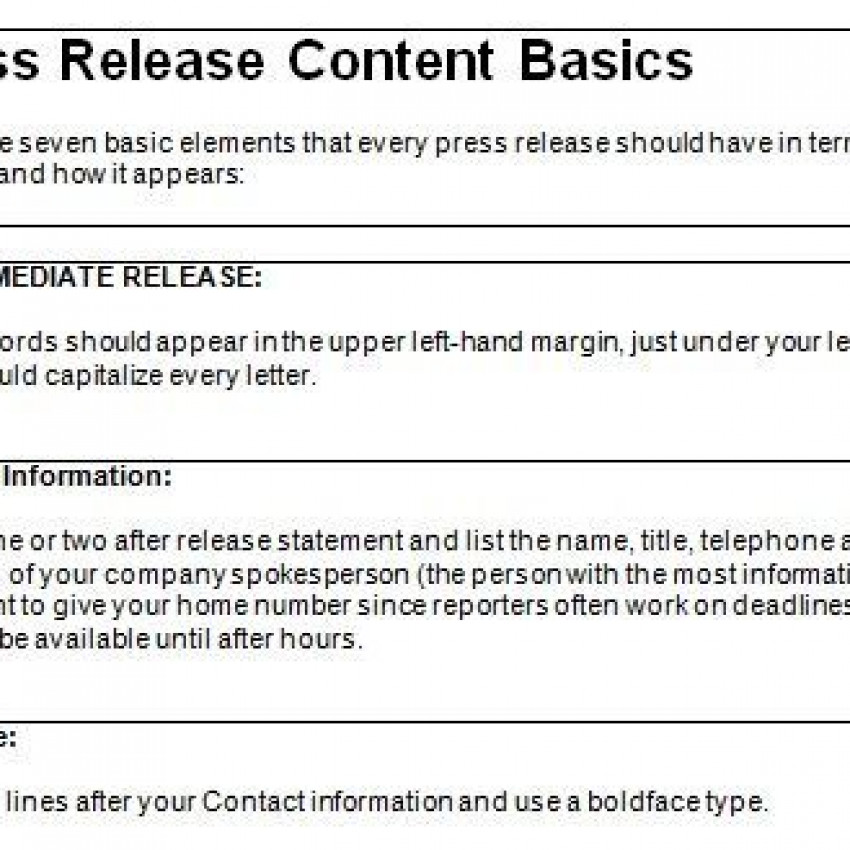 MyLearning - Press release template word