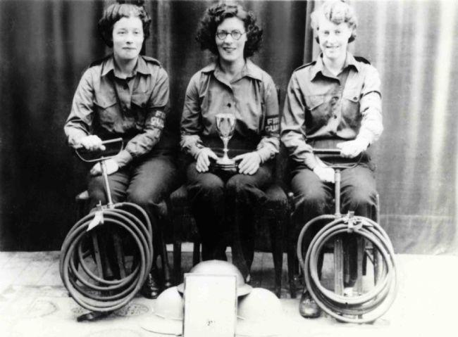 M&S Canterbury Staff: Firefighting Team 1944