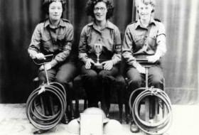 Marks & Spencer Canterbury Staff: Firefighting Team 1944