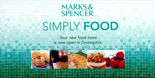 M&S Simply Food advert