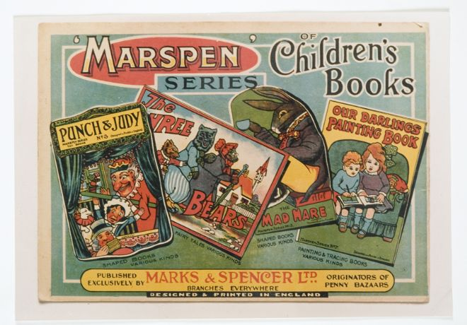 M&S Advert for Marspen Books
