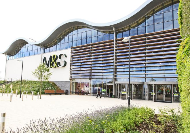 M&S Cheshire Oaks store opened in 2012