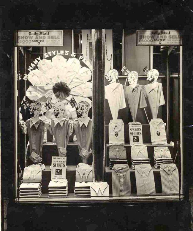 M&S Menswear Window 1937