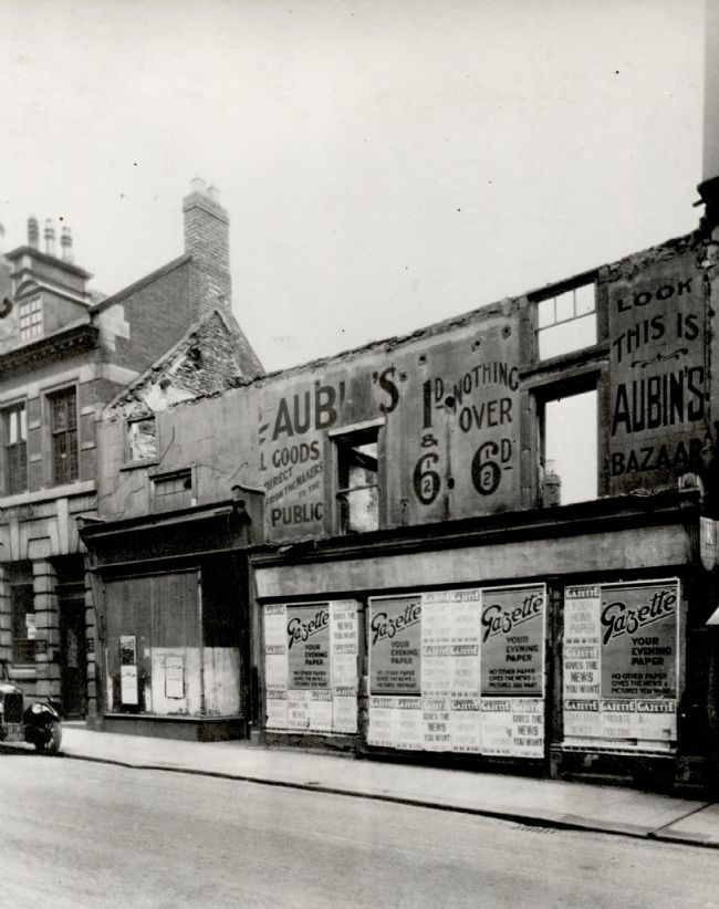 M&S Bishop Auckland, 1929 site for redevelopment