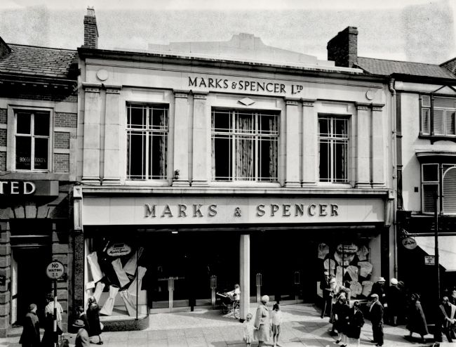 M&S Bishop Auckland, 1965