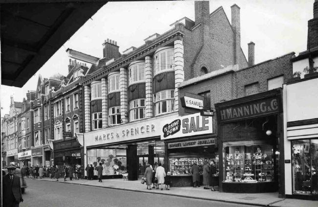 M&S Bromley,129 High Street, 1958