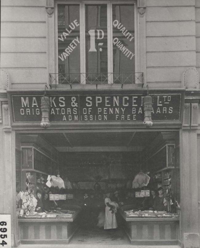 M&S Exeter, 5 Queen Street, 1912