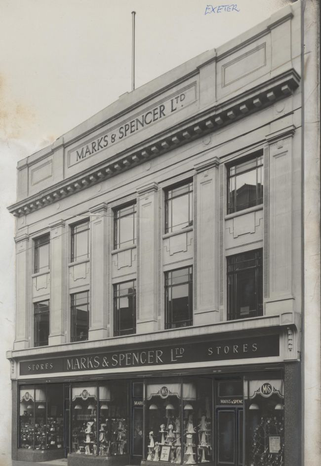 M&S Exeter, 177 Fore Street, 1929