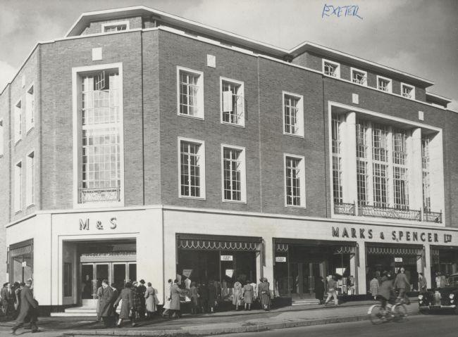 M&S Exeter, 247 High Street, 1951