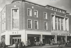 M&S Exeter High Street 1951