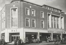 M&S Exeter High Street 1951
