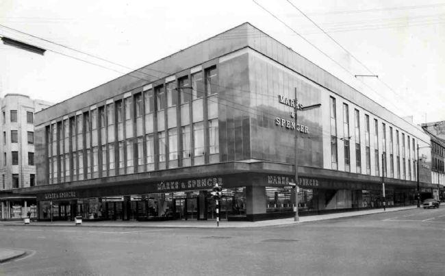 M&S Glasgow, 2-12 Argyle Street, March 1966