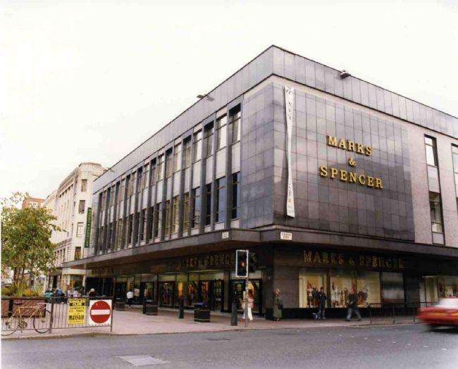 M&S Glasgow, 2-12 Argyle Street, August 1993