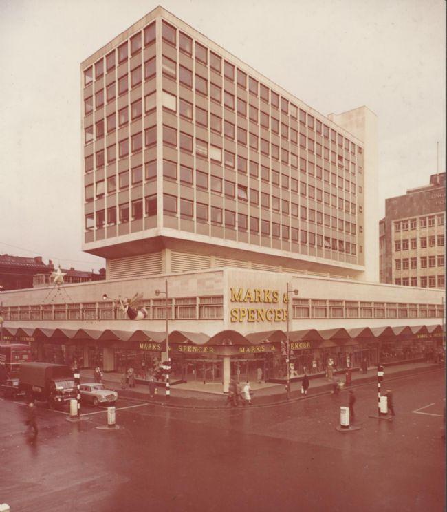 M&S Manchester Market Street, 1962