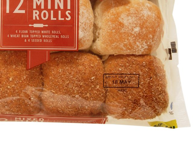 M&S Sell-by Label