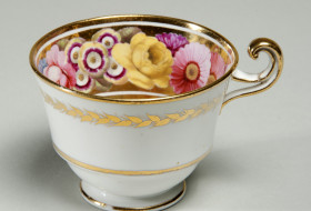 Teacup with Flower Decoration