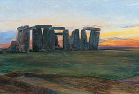 Stonehenge by John William Inchbold