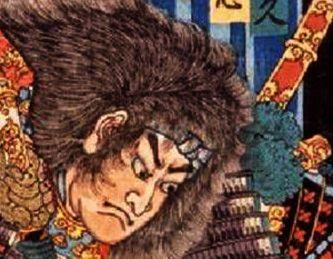 Detail from Japanese print
