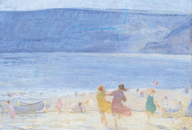 The Beach, Runswick by Florence Hess