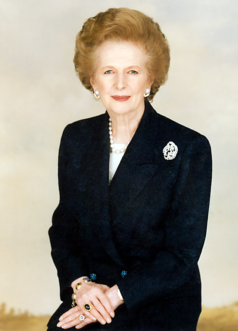 Margaret Thatcher, UK Prime Minister 1979 -1990