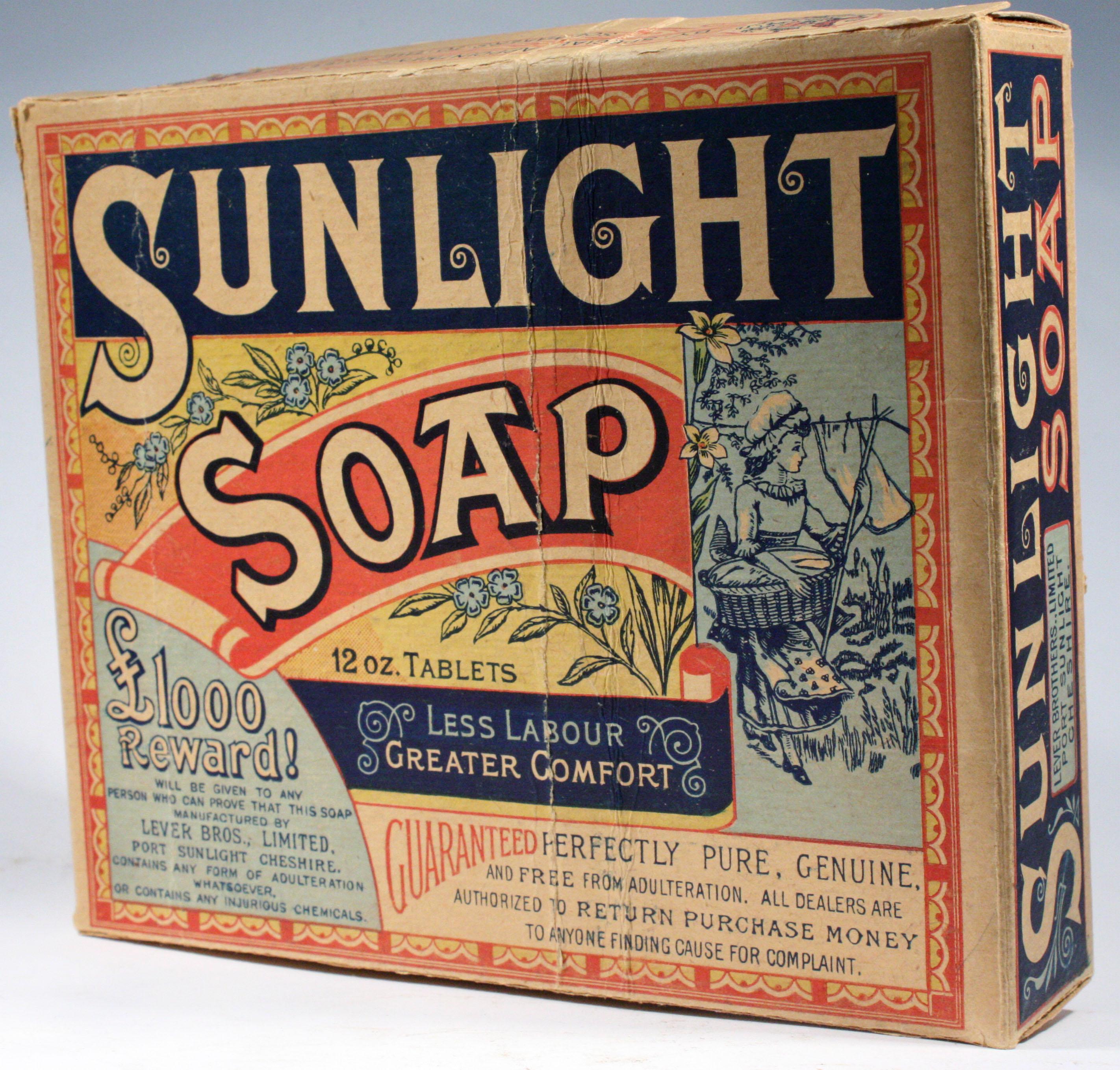 First Bar of Sunlight Soap