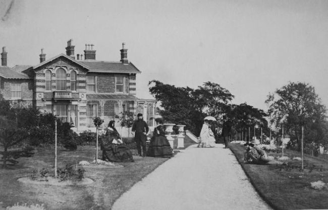 Whinfield House, Preston during Victorian times