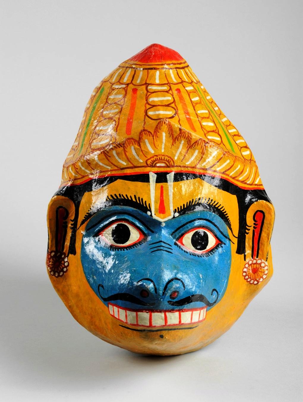 Indian Hindu Hanuman Mask