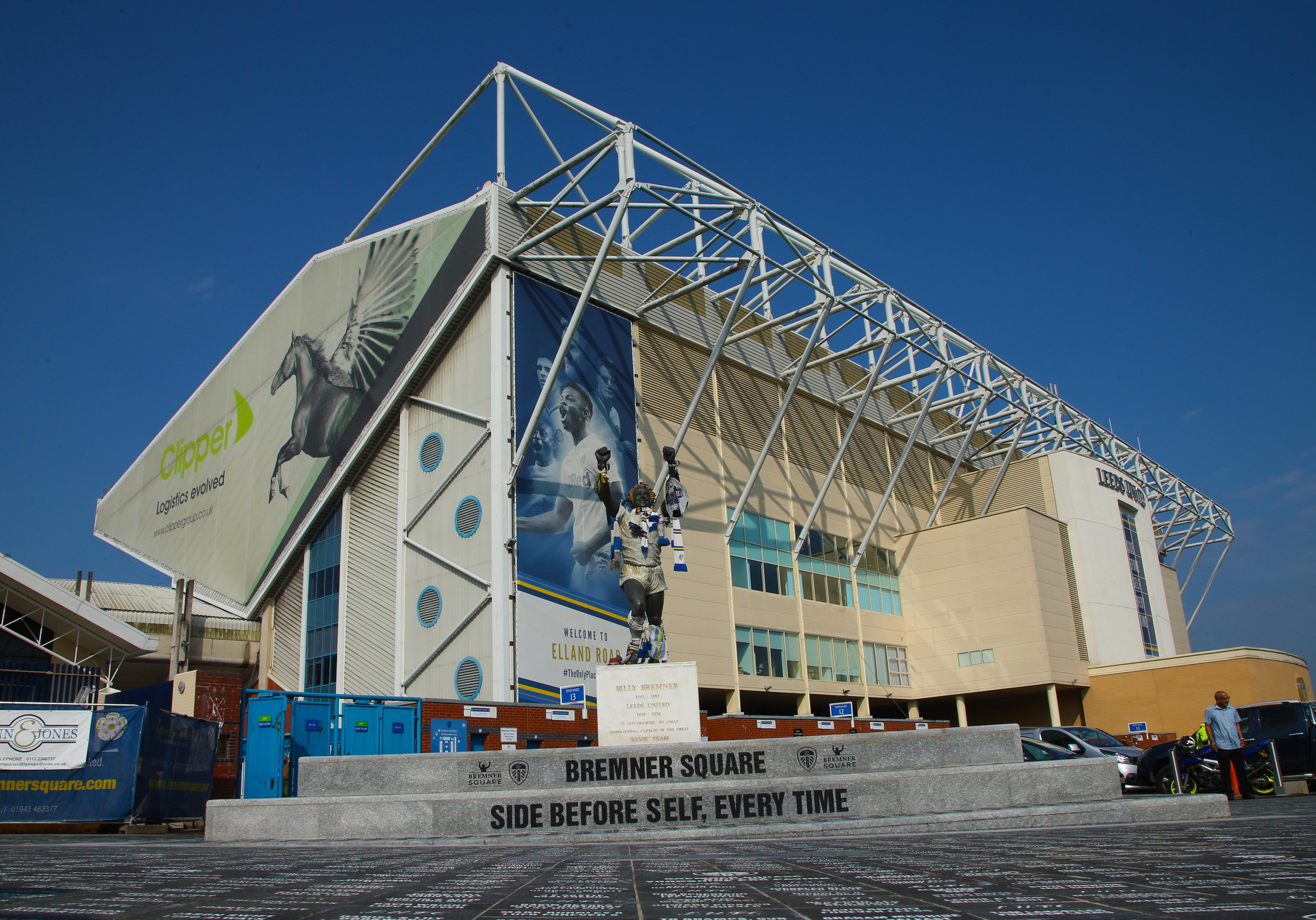Elland Road Football Ground home of Leeds United