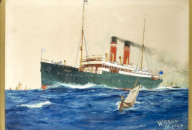Wilson Line ship the SS Eskimo