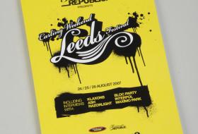 Leeds Festival Official Programme, 2007
