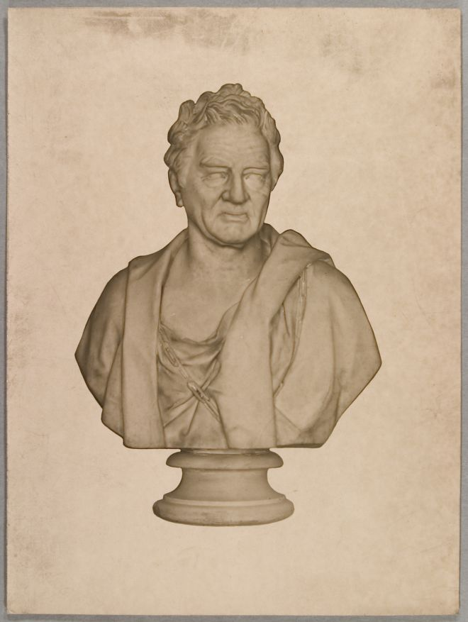 Marble bust of William Wilberforce
