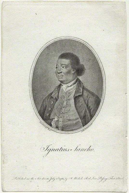 Portrait of ex-slave Ignatius Sancho