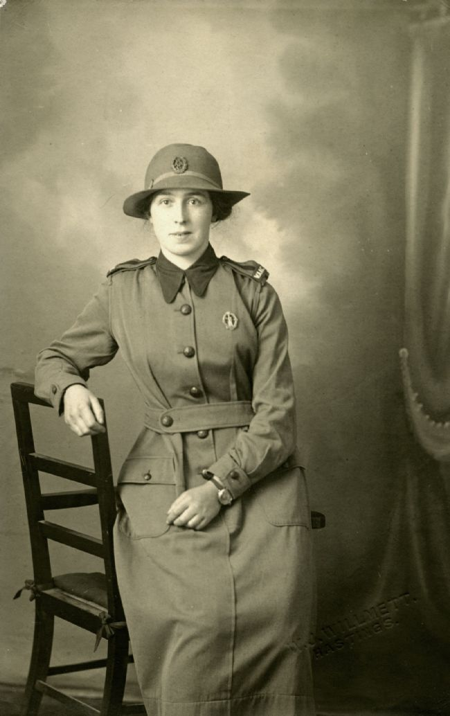 Member of the Women's Army Auxiliary Corps in uniform