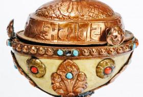 Tibetan Skull Cup