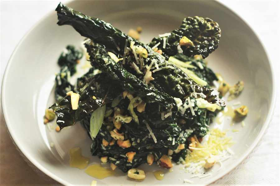 Cavolo Nero and Parmesan Salad